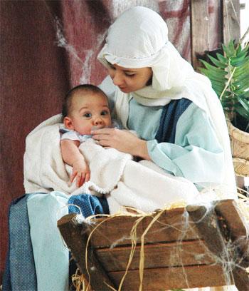 Baby Jesus costume