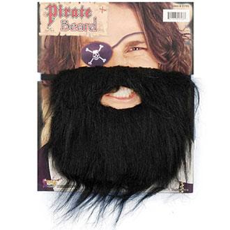 black beard moustache