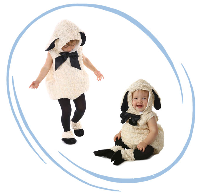 lamb costume infant toddler