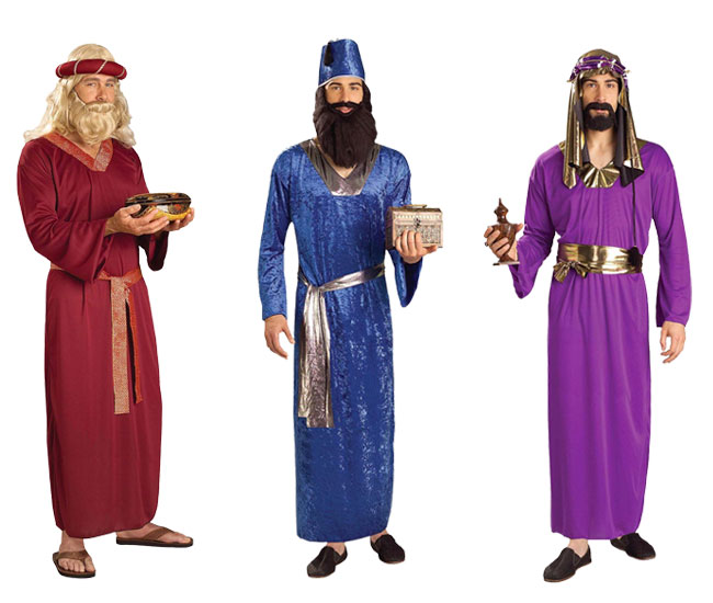 wise men costumes adult