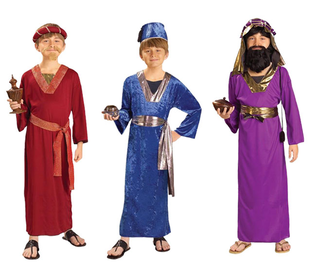 Wise Men Costumes » Christmas Nativity Costumes