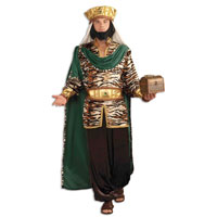 adult wise men costume emerald