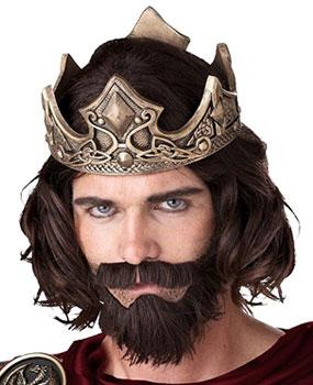 adult wise men biblical beard and wig