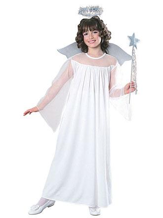 child girl kid angel costume