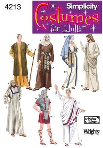 Biblical Costume Patterns Christmas Nativity Costumes