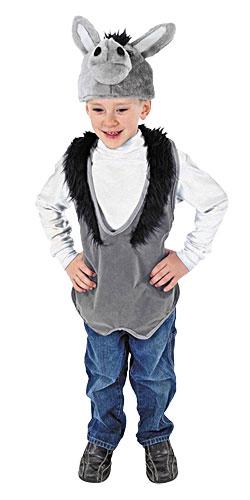 donkey vest hat costume