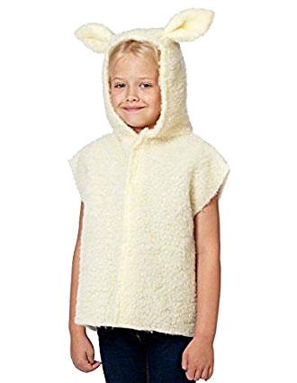 hooded lamb costume
