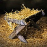 Nativity stable and manger