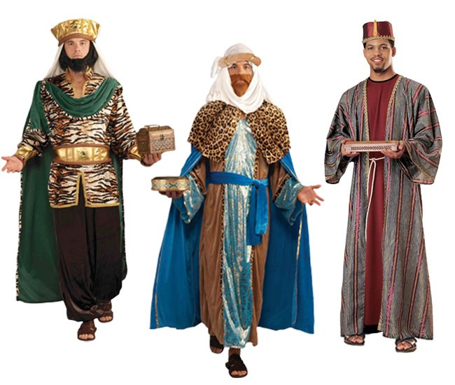 wise men adult costumes
